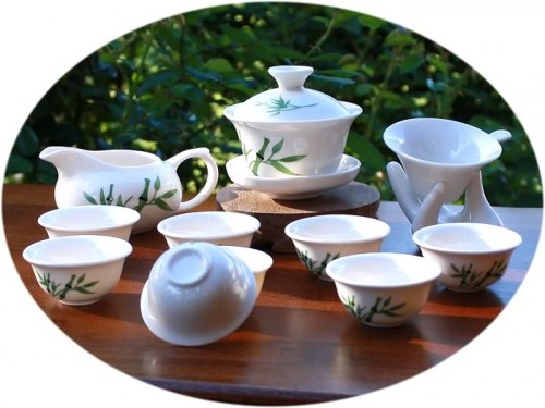 Chinese tea set Kung Fu Tea Set Bamboo Art