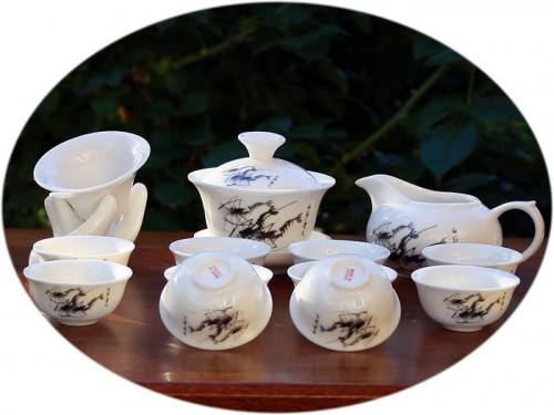 Gong Fu tea set Aquarium