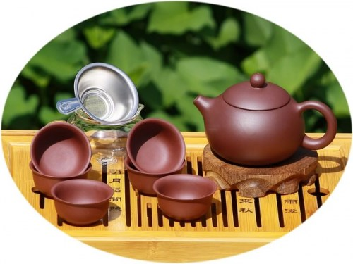 Chinese tea set ZiSha tea set A